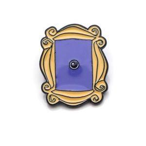 "🆕""Friends"" TV Show Monica's Peephole Frame Pin❣️"